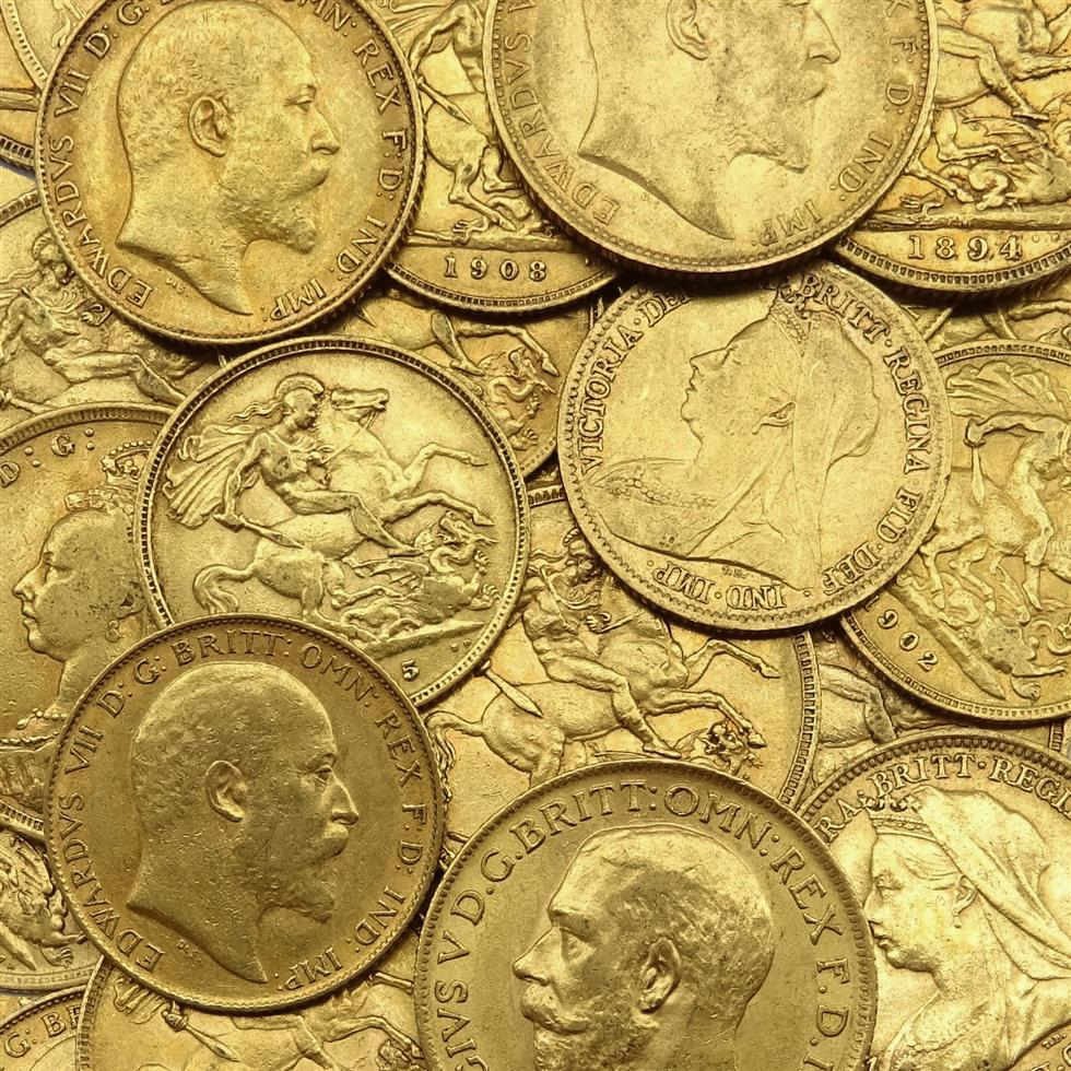 Coins, Banknotes & Stamps