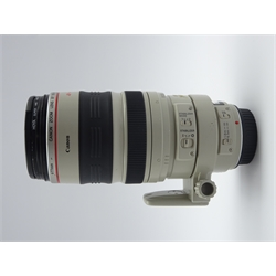 'CANON ZOOM LENS EF 100-400mm 1:4.5-5.6 L IS' telephoto zoom camera lens