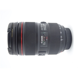 'CANON ZOOM LENS EF 24-105mm 1:4 l IS II USM' wide-to-telephoto zoom camera lens