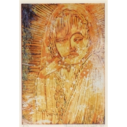 Jane MacAllister Dukes (British Contemporary): 'Lady of the Light',  artist's proof colour print signed and dated '05 in pencil, titled verso 17cm x