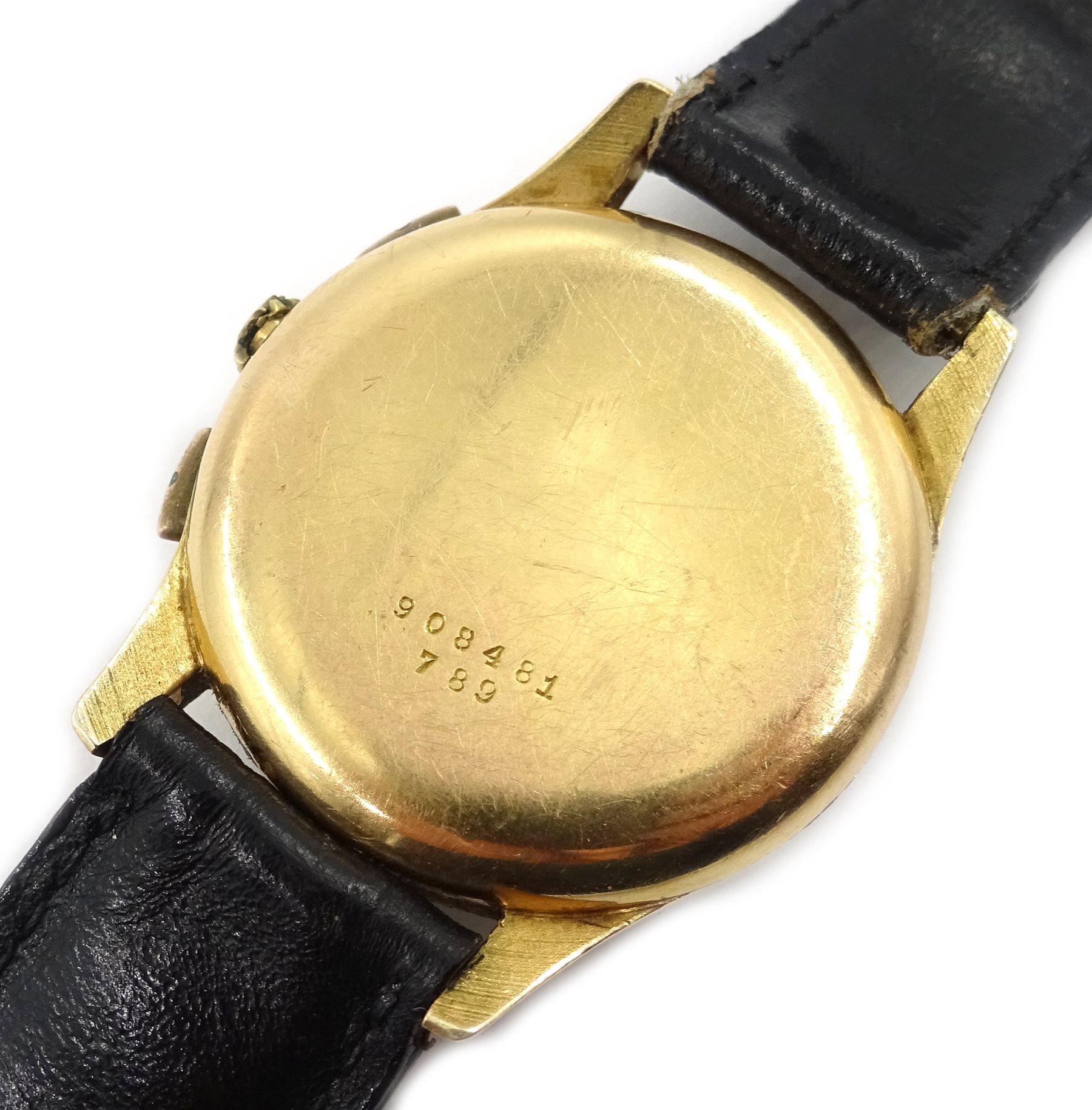 Breitling 18ct gold Union Special precision chronograph