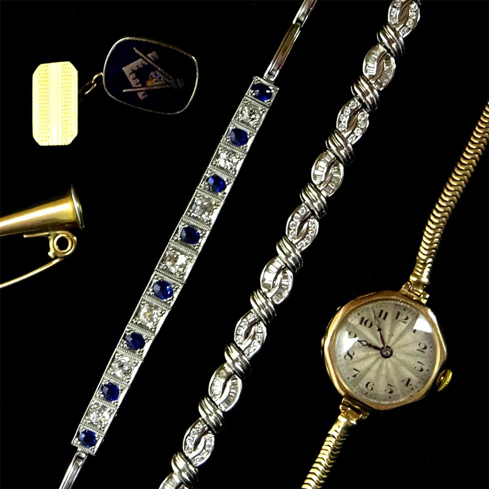 Jewellery, Watches & Silver                                  on 21/06/2019