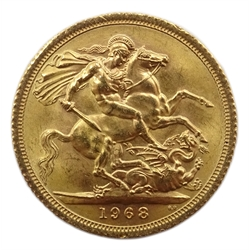 1968 gold full sovereign