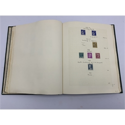 Impressive single album collection of French stamps from 1881 to 1952, a mostly mint collection including some pairs, some higher values to five francs, commemorative issues etc, well presented with stamps on hinges as well as in stock slips, many annotated with old catalogue values, huge catalogue value throught