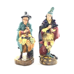 Royal Doulton figure 'The Pied Piper' HN 2102 and another 'The Mask Seller' HN 2103 (2)