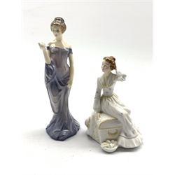 Two Royal Doulton figures 'Summer's Day' HN 2181 and 'Harmony' HN 2824