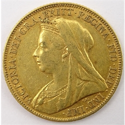 Queen Victoria 1897 gold full sovereign