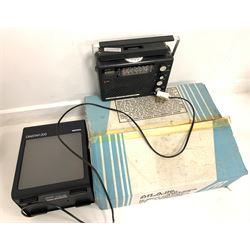 C.E.C Chuo Denki 4000 turntable, Diastar 200 portable light and Fujion Radio Direction Finder